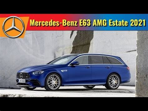 This is one of the few sedans on. 2021 Mercedes-AMG E63 4MATIC Wagon - YouTube