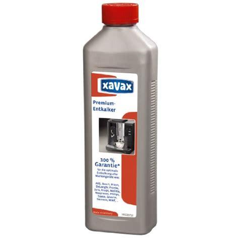 Kaffeevollautomat Empfehlung 2016 by Entkalker Xavax Premium F 252 R Kaffeevollautomaten Und