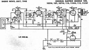 General Electric Radio Schematics Posted On Am General Wiring Diagram By Peggy G  Brown  General