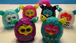 MCDONALDS FURBY BOOM 2013 HAPPY MEAL FULL TOY SET ...