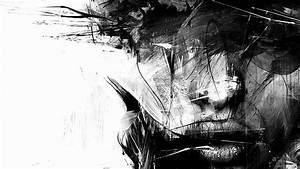 Black and White Portrait Desktop Background HD 1920x1200 ...