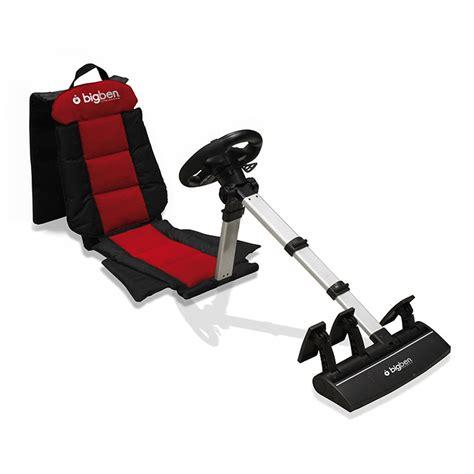 bigben racing seat ps3 ps2 pc volant pc bigben