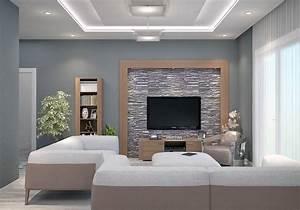 Modele De Salon : mod le de construction traditionnelle de 90m2 de plain ~ Premium-room.com Idées de Décoration
