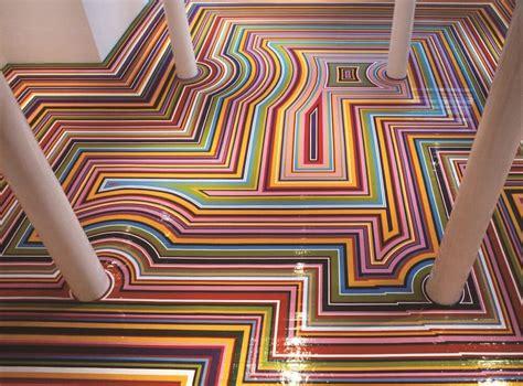 mesmerizing vinyl rainbow tape floor installations freeyork