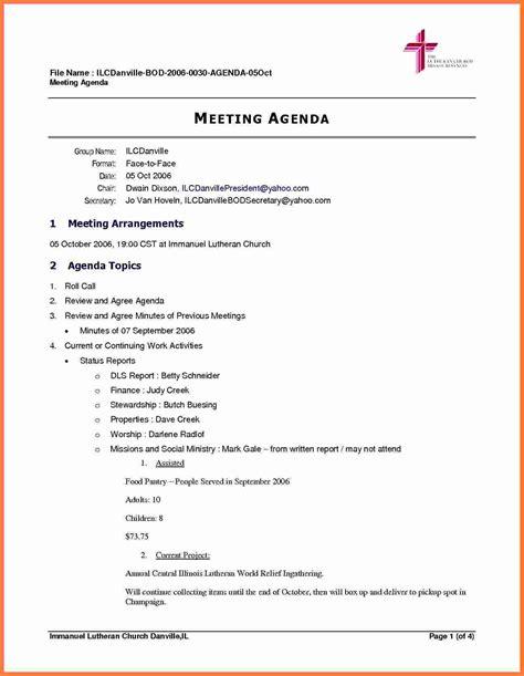 board meeting agenda marital settlements information