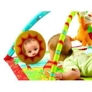 jouet tapis d 233 veil gymini sons lumi 232 res monkey sur koikomjouet