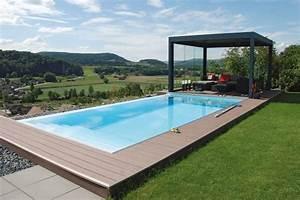 Garten Pool Rechteckig : haus und portal f r bauen wohnen haus garten gut angelegt garten und pool ~ Orissabook.com Haus und Dekorationen