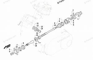 Arctic Cat Side By Side 2008 Oem Parts Diagram For Secondary Drive Assembly