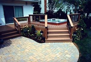 deck and patio ideas for small backyards mystical With deck and patio ideas for small backyards