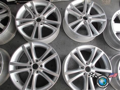 four 2011 chrysler 200 factory 18 wheels oem rims
