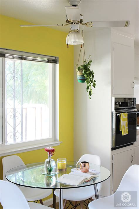 bright colored bedrooms live how to transform a dining room with a bright paint color ation