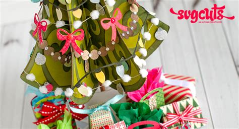 This project is compatible with any cutting machine and software combination that allows you to import svg files, such as cricut design space, sure cuts a. A Very Merry Miniature Christmas Tree by Thienly Azim ...