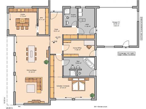 Grundriss Haus Integrierte Garage by Grundriss Bungalow Mit Integrierter Garage Visiontherapy Net