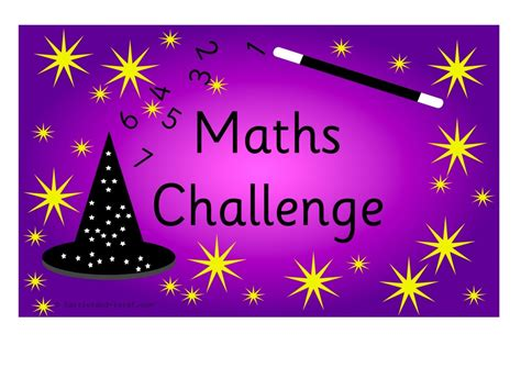 challenge area maths challenges and sign for early years