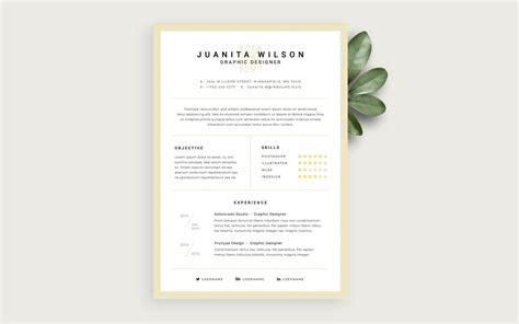 Sle Cleaner Resume by Template Clean Resume Psdchat