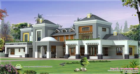luxury house plan with photo kerala home design and