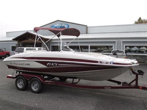2013 Tahoe 195 Deck Boat by Tahoe 195 Fish Deck Boats For Sale