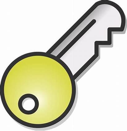 Key Keys Clip Clipart Animated Door Lock