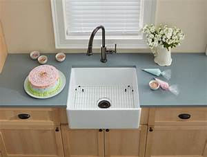 elkay swuf2520wh 25 inch farmhouse kitchen sink with With 25 inch farmhouse sink