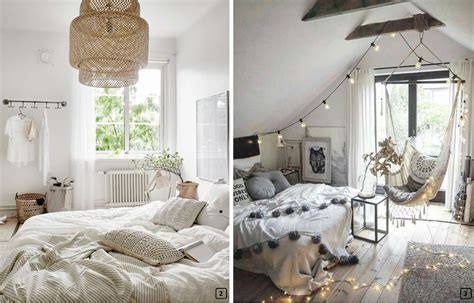 bohemian chic decoration  romantic room bnbstaging le blog