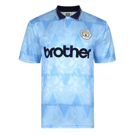 Manchester City Retro Shirt