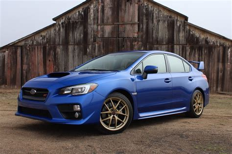Subaru Car : 2015 Subaru Wrx Sti First Drive