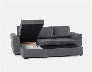 berto interchangeable sectional sofa bed with storage grey With sectional sofa bed structube