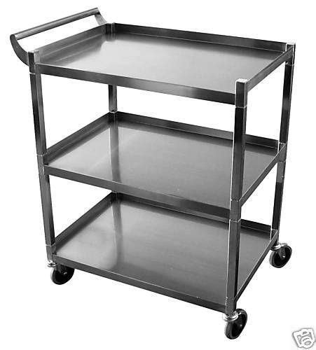 stainless steel kitchen cart stainless steel utility cart ebay