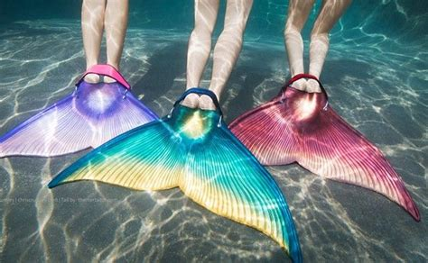 Mermaid Tails with Monofin