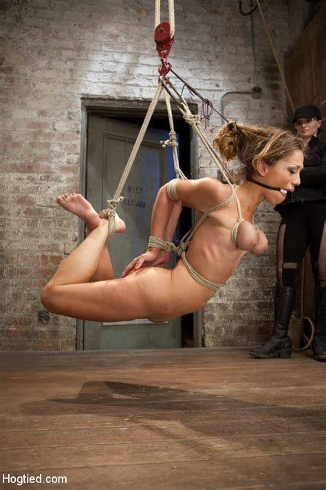 hardcore bondage as babe is racked and rope xxx dessert picture 4