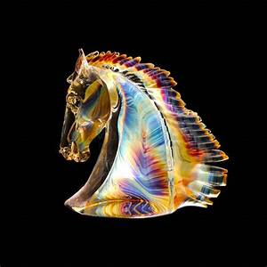 Murano Glass Horse head - big in Murano Glass MuranoNet