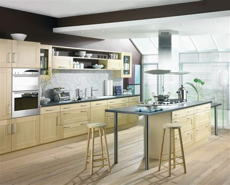 shaker kitchen ideas shaker birch kitchen design stylehomes