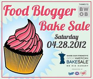 Food Blogger Bake Sale is Saturday!