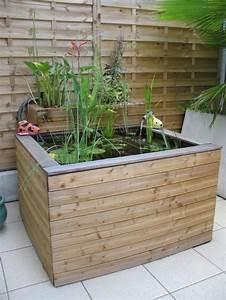 Bac à Poisson Extérieur : la d co jardin r cup en 41 photos inspirantes ~ Teatrodelosmanantiales.com Idées de Décoration