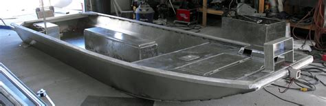 Homemade Aluminum Fishing Boat by Extreme Metal Fabrication Custom Aluminum Boats Duck