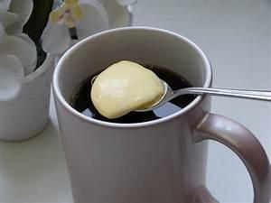 Butter in den, kaffee