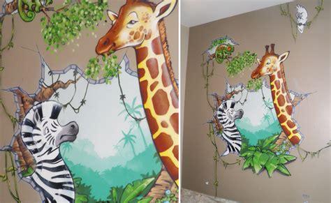 déco jungle chambre bébé deco chambre bebe garcon jungle