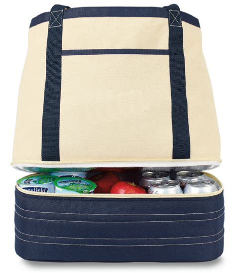 canvas cooler bag personalized