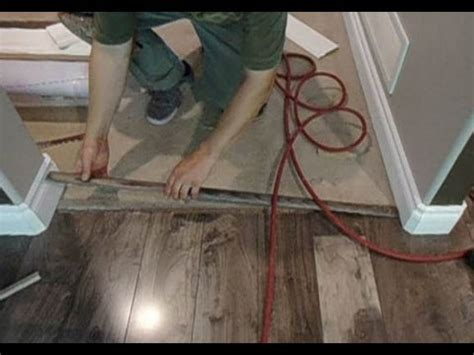 installing transition laminate flooring to carpet laminate floor transition to carpet how to install