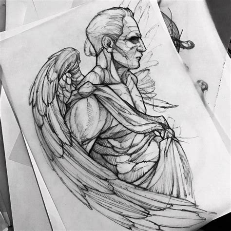 Charles oliveira vs michael… take a closer look at how submission specialist charles oliveira has set up and pulled off various submissions from his ufc career. Angel drawing fredao oliveira | Desenhos para tatuagem ...
