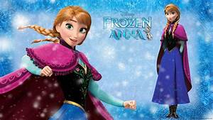Frozen Anna - Disney Princess Wallpaper (37731324) - Fanpop
