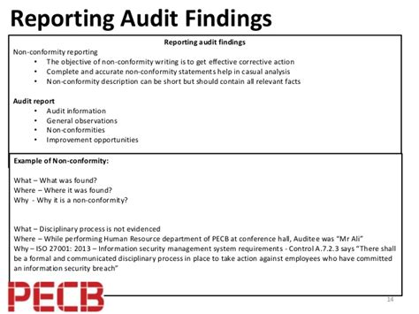 audit resumes best practices to perform an isms