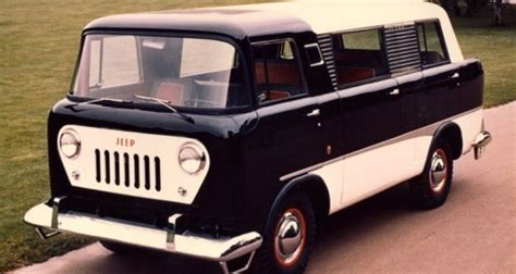 first jeep ever made jeep had its own version of the iconic hippie van but