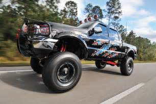Ford Super Duty Jacked Up Trucks