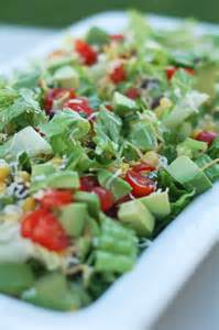 Taco Salad with Avocado