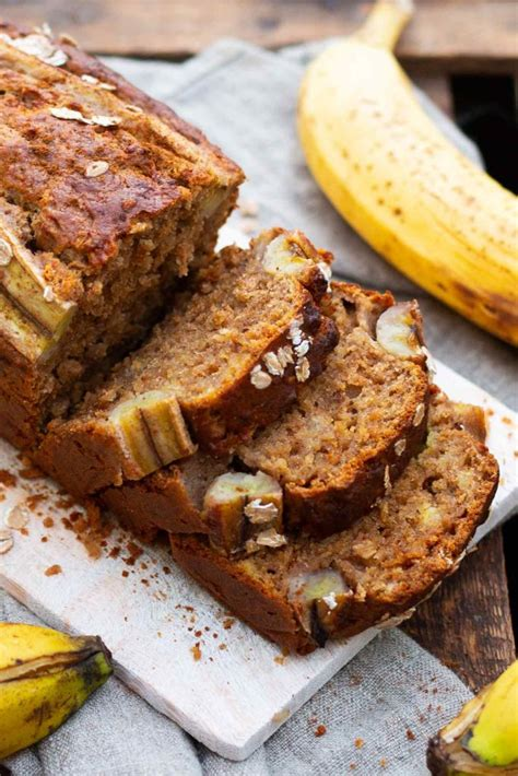einfaches super saftiges bananenbrot ohne zucker
