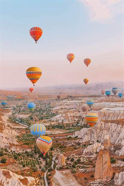 Turkey Places Travel Visiting Handluggageonly Balloon Air