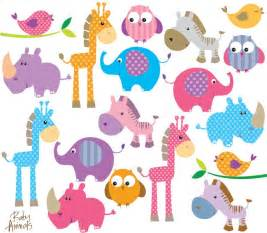Cute Baby Animal Clip Art