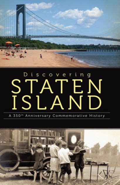 barnes and noble staten island discovering staten island a 350th anniversary