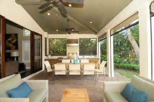 French Door Treatments Ideas by Winter Park Fl Lanai And Laundry Room Addition